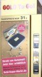 Imagem da notícia: Ouro chega às 'vending machines'