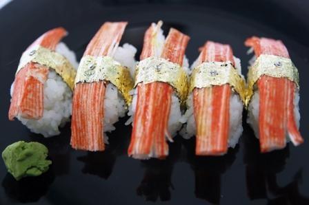 Imagem da notícia: Sushi com ouro e diamantes