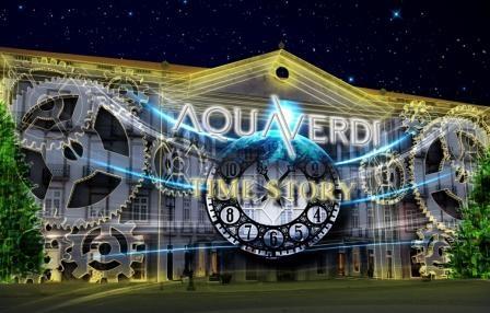 Imagem da notícia: AquaVerdi Time Story em 3D