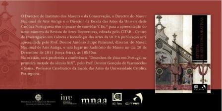 """Imagem da notícia: """"Desenho de Jóias em Portugal na primeira metade do século XIX"""""""