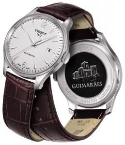 Imagem da notícia: Relógio Tissot dedicado a Guimarães