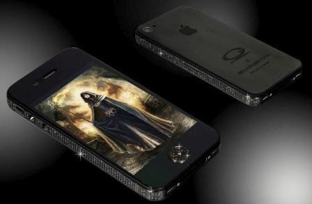 Imagem da notícia: iPhone 4S com diamantes pretos