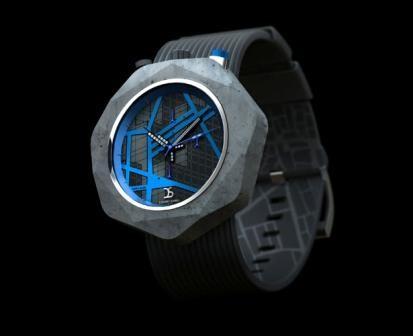 Imagem da notícia: Designer cria relógios de cimento