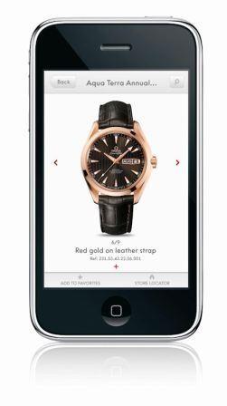 Imagem da notícia: iPhone com aplicação Omega