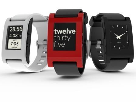 Imagem da notícia: Lançamento do Pebble Smartwatch adiado