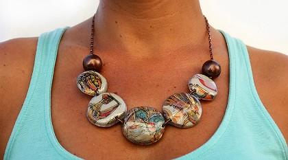 Imagem da notícia: Reciclar para fazer joias