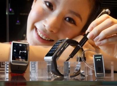 Imagem da notícia: Samsung prepara smartwatch