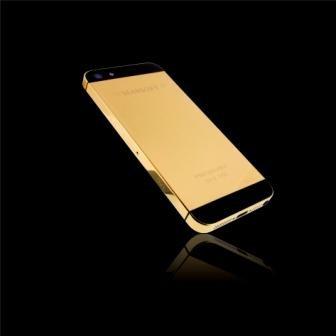 Imagem da notícia: Golden Dreams apresenta iPhone5 em ouro