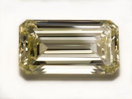 Imagem da notícia: Diamante champanhe de 55 quilates está em exibição