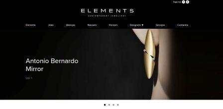 Imagem da notícia: Elements renova site