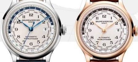 Imagem da notícia: Novos relógios permitem ver o fuso horário de 24 cidades