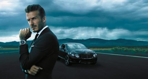 Imagem da notícia: Beckham empresta o estilo a novo relógio suíço