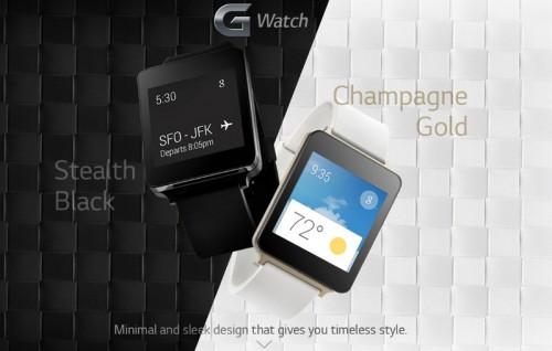 Imagem da notícia: Novos detalhes sobre o G Watch