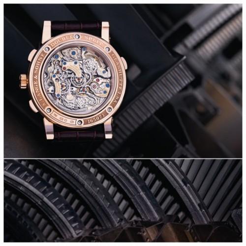 Imagem da notícia: Perfeição, com relógios e motores de aviões