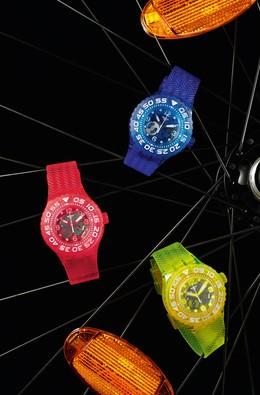 """Imagem da notícia: Novos relógios para """"arrefecer"""" o verão"""