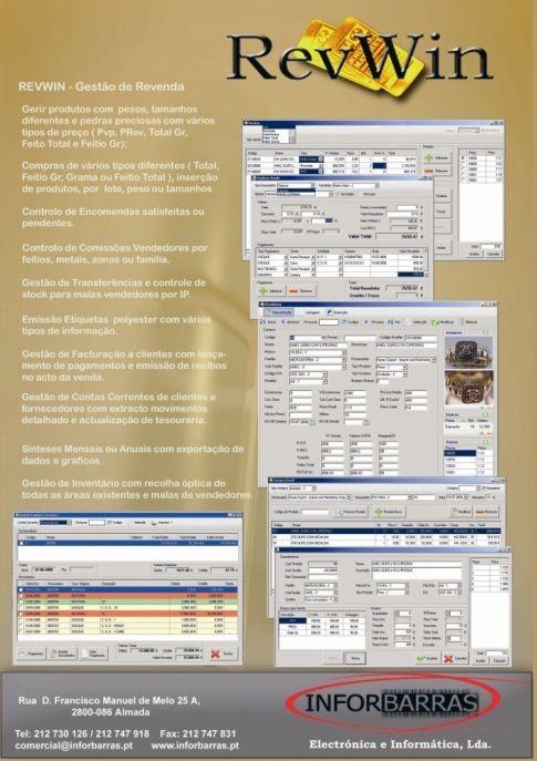 Imagem da notícia: 'Software' para Ourivesarias