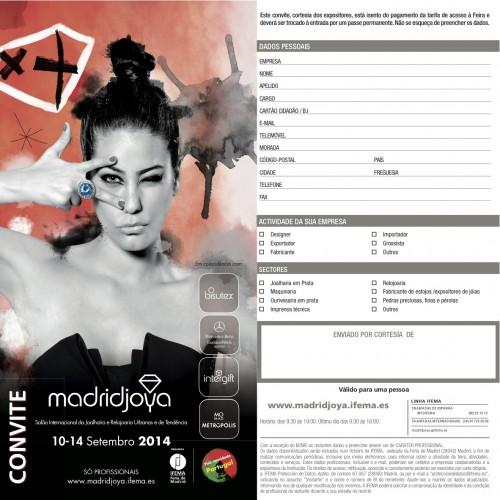Imagem da notícia: Convite MadridJoya!