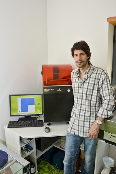 Imagem da notícia: A história de Luís Oliveira