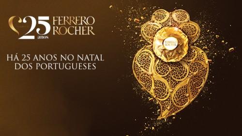 Imagem da notícia: Ferrero Rocher une-se à tradição portuguesa