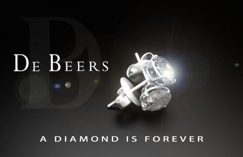 Imagem da notícia: De Beers anuncia vender diamantes em segunda mão