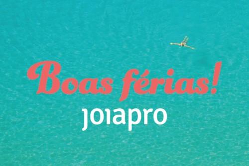 Imagem da notícia: JoiaPro de férias!