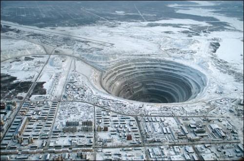 """Imagem da notícia: """"Cidade Diamante"""" é na Sibéria"""