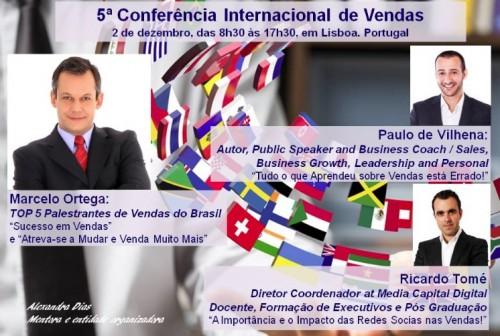 Imagem da notícia: 5ª Conferência Internacional de Vendas