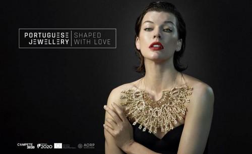 Imagem da notícia: Joalharia portuguesa lança campanha internacional com Milla Jovovich