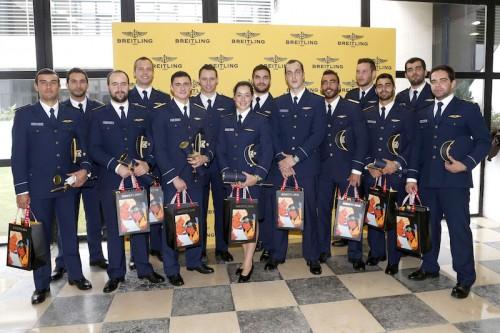 Imagem da notícia: Breitling distingue Piloto do Ano da Academia da Força Aérea Portuguesa