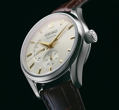 """Imagem da notícia: Seiko celebra 60 anos com """"remake"""" do primeiro relógio automático"""
