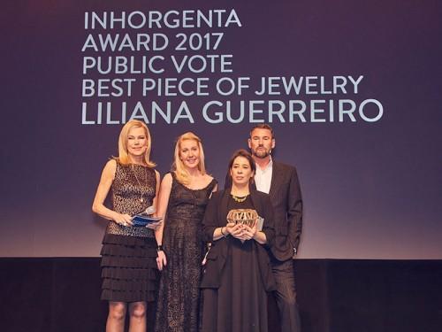 """Imagem da notícia: Liliana Guerreiro vence """"Melhor Peça de Joalharia"""" em Munique"""