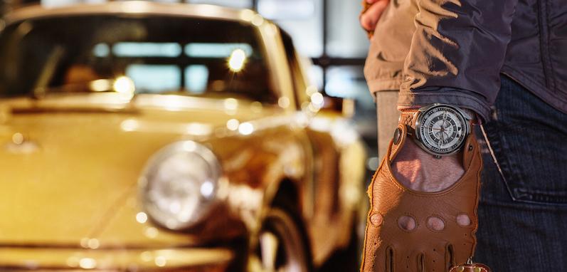 Imagem da notícia: Relógios feitos a partir do Porsche 911
