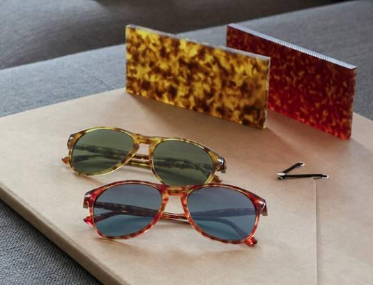 Imagem da notícia: Óculos com ouro