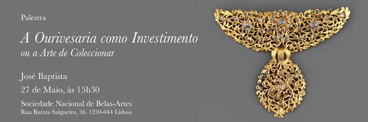 """Imagem da notícia: """"A Ourivesaria como Investimento ou a Arte de Colecionar"""""""