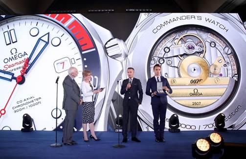Imagem da notícia: Omega inspira-se em James Bond