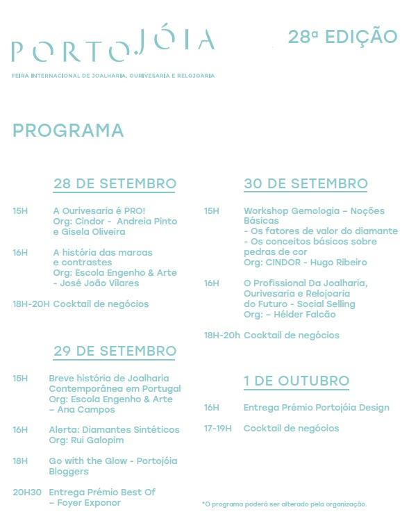 Imagem da notícia: PortoJóia 2017: já conhece o programa?