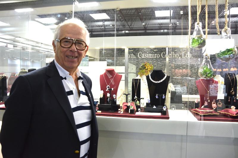 Imagem da notícia: Casimiro Coelho na PortoJóia
