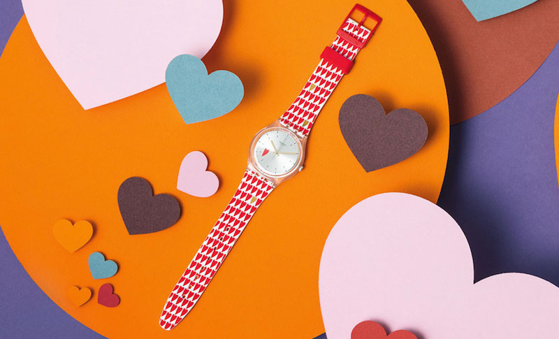 Imagem da notícia: Swatch para o Dia dos Namorados