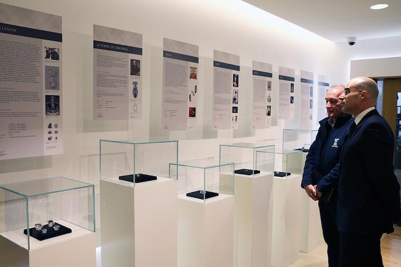 """Imagem da notícia: Já visitou a exposição """"Diamantes com Estórias""""?"""