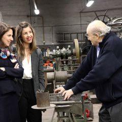 Imagem da notícia: Secretária de Estado da Indústria visita oficina Alcino