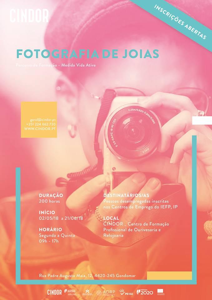 Imagem da notícia: Torne-se profissional em Fotografia de Joias com a Cindor