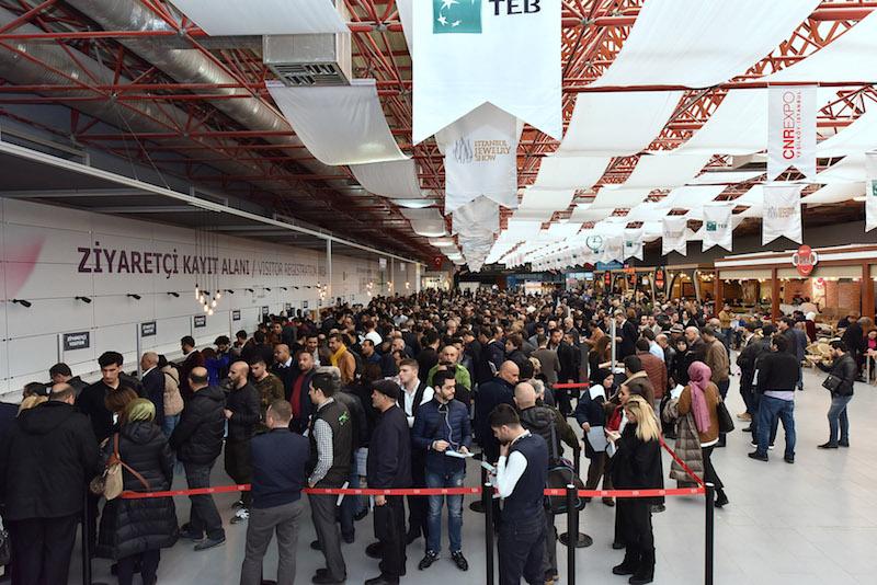 Imagem da notícia: Istanbul Jewelry Show aumentou número de visitantes