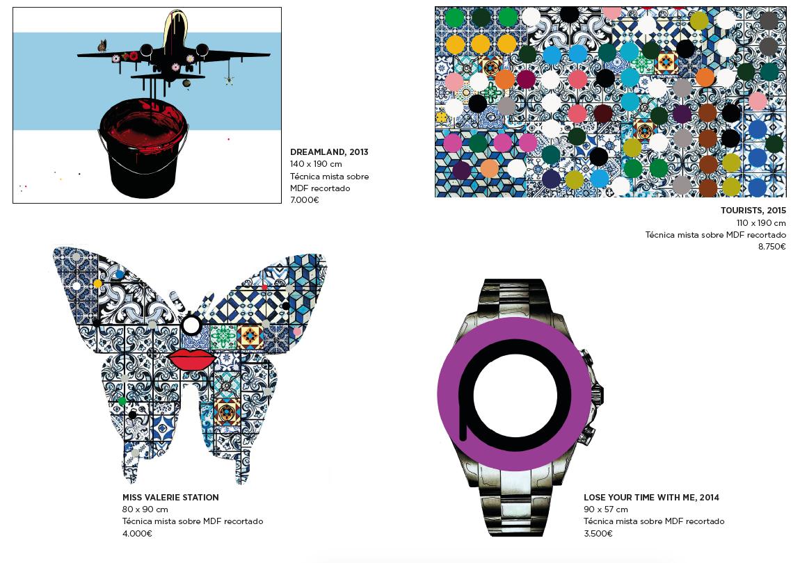 853e244069a Imagem da notícia  João Noutel expõe na Boutique dos Relógios Plus Art