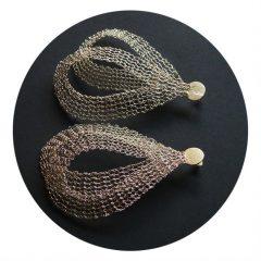 Imagem da notícia: Conhece a técnica do tricot em metal?