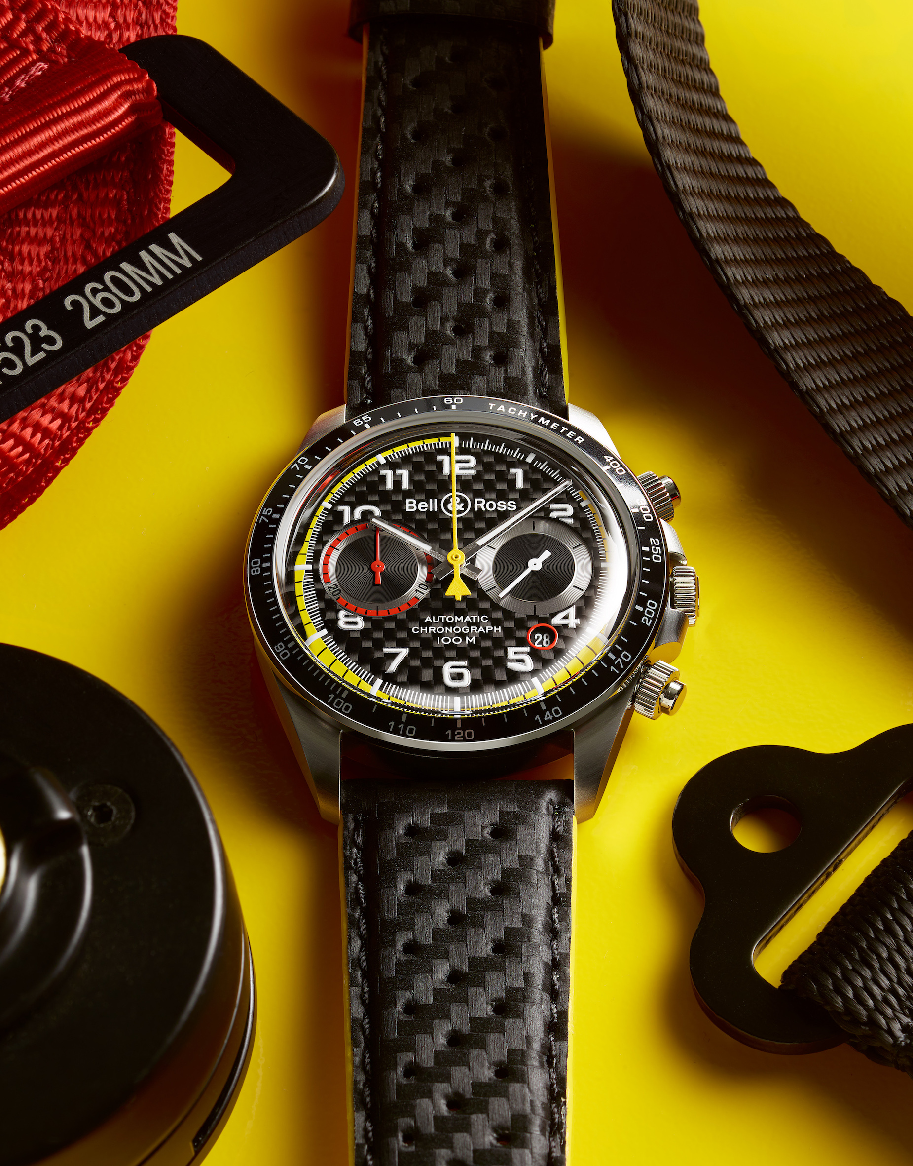 Imagem da notícia: O relógio vintage inspirado na Fórmula 1