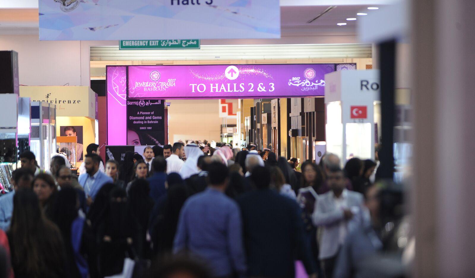 Imagem da notícia: Jewellery Arabia antevê 50.000 visitantes