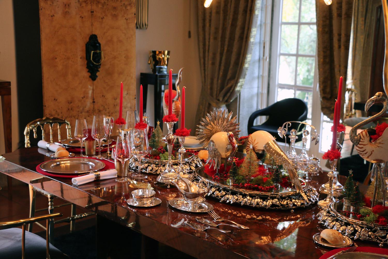 Imagem da notícia: Ourivesaria Tavares apresenta mesa de Natal