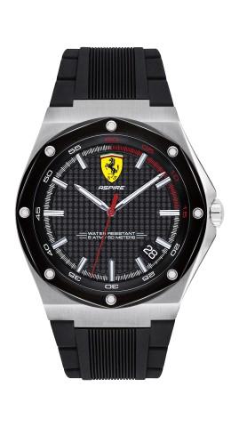 Imagem da notícia: Ferrari: Relógio Aspire capta espírito das corridas