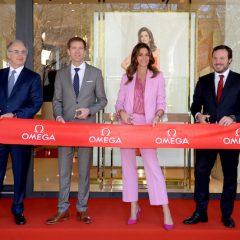 Imagem da notícia: Cindy Crawford na abertura da boutique OMEGA em Portugal