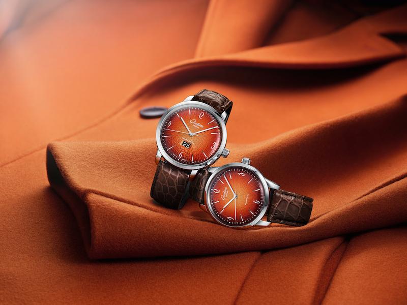 """Imagem da notícia: Glashütte Original em """"intensos tons laranja"""""""